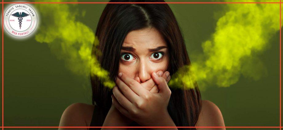 ağız kokusu, kötü ağız kokusu, iğrenç ağız kokusu, yeşil ağız kokusu,