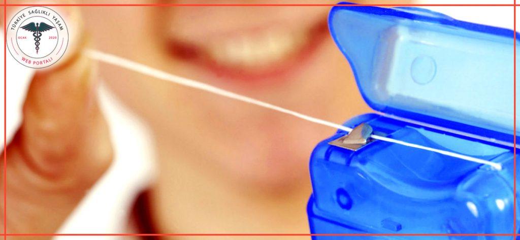 diş ipi kullanımı, diş ipi, mavi diş ipi,