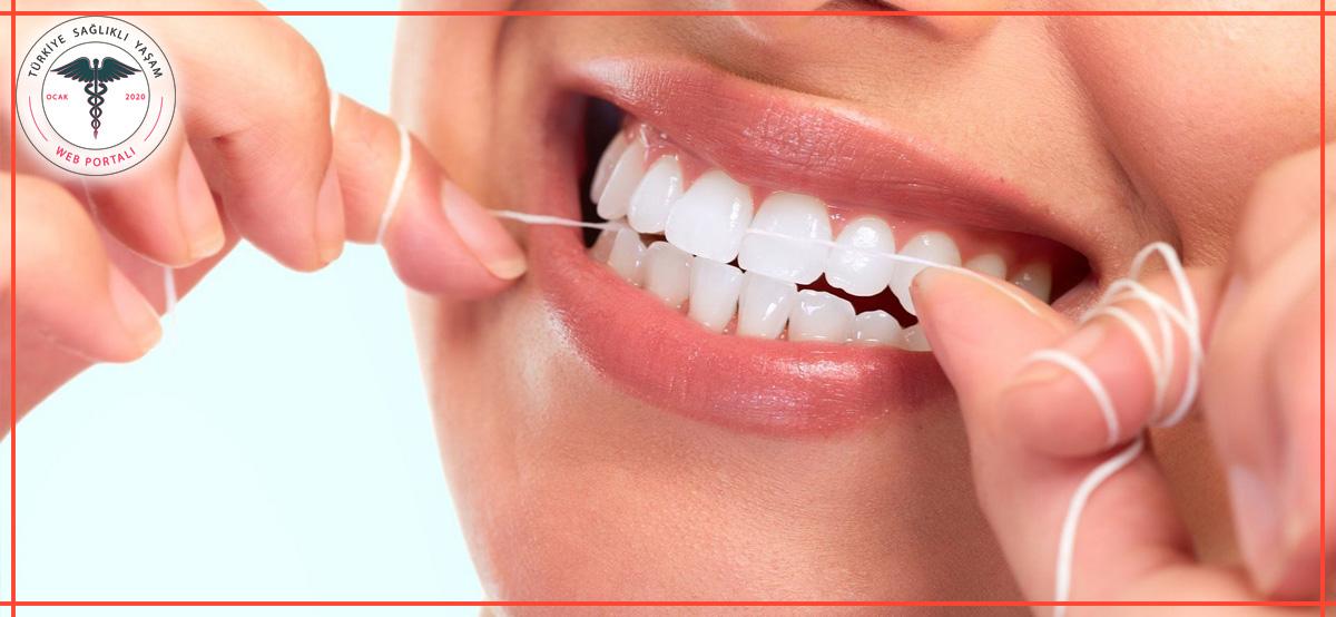 diş ipi, diş ipi kullanımı, diş ipi ağız,