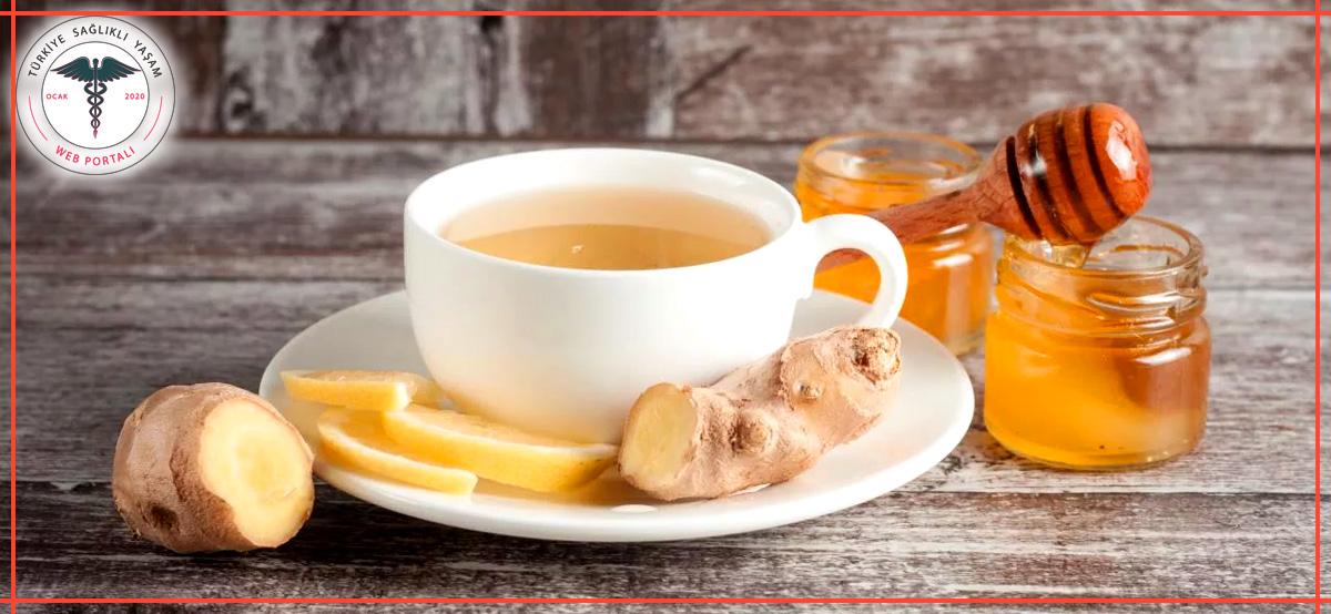 zencefil çayı, zencefil çayı tarifi, ballı zencefil çayı,