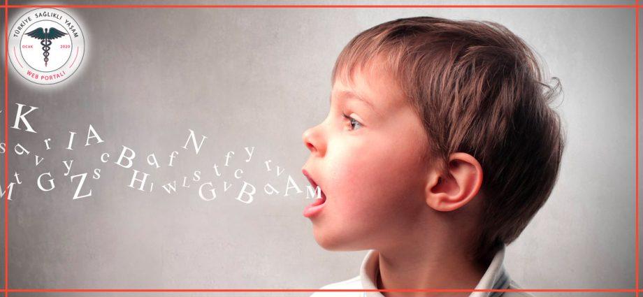 çocuklarda konuşma bozukluğu, çocuklarda konuşma bozuklukları,